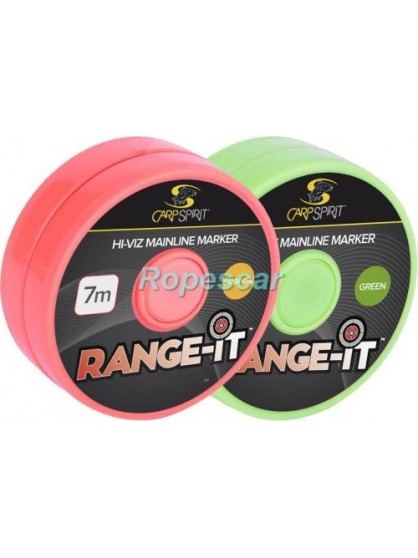 Elastic marcare Range-It Hi-Viz mainline Marker Orange Fluo - Carp Spirit