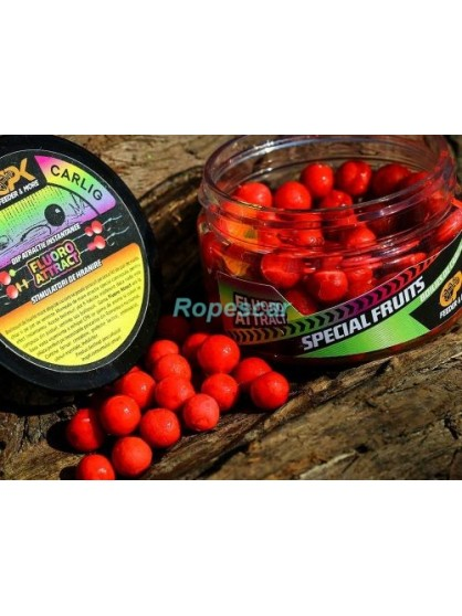 Boilies de carlig Fluoroattract Feeder Special Fruits 8 mm./30 gr. - CPK