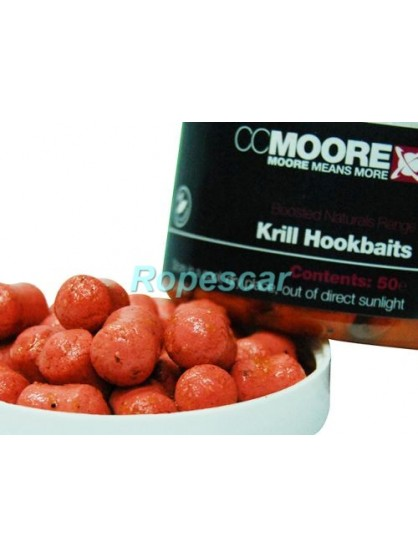 Boilies Glugged Krill Boilie Hookbaits - CC Moore