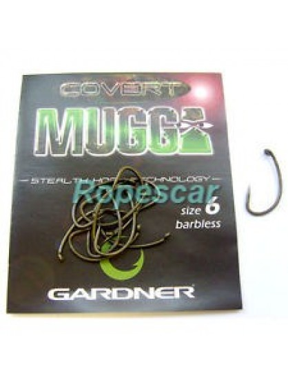 Carlige Gardner Muga Covert Barbless