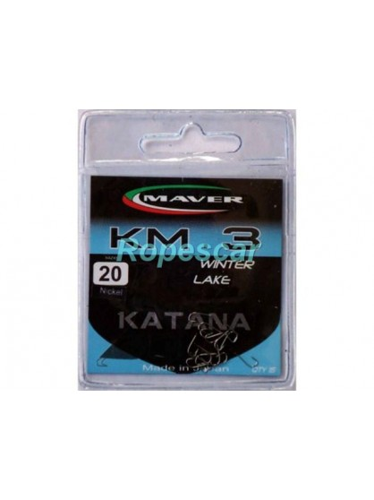 Carlige Katana seria match KM3 Bronz Winter Lake - Maver