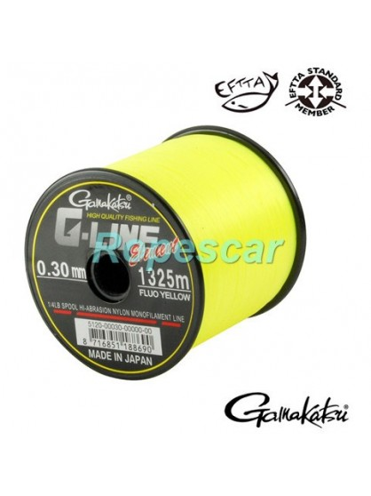 Fir G Line Fluo Yellow - Gamakatsu