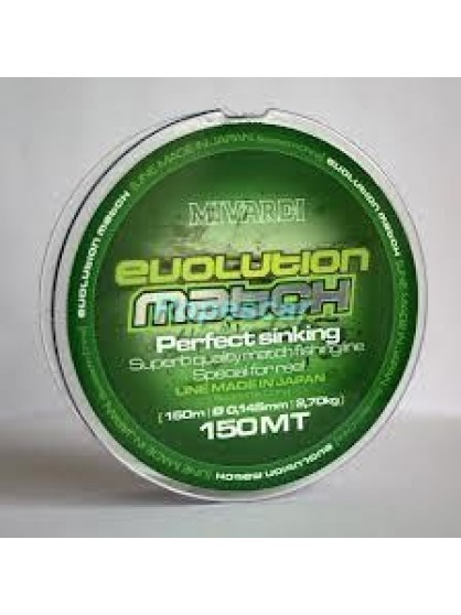 Monofilament Evolution Match 150M- Mivardi