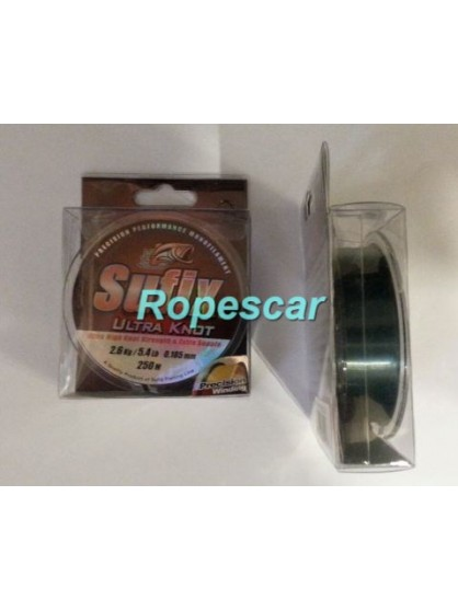 Fir monofilament Ultraknot Smoke Green 250M - Sufix