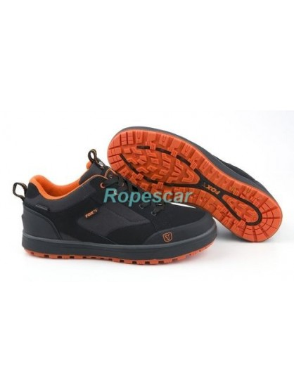 Pantofi sport Black & Orange Trainers - Fox
