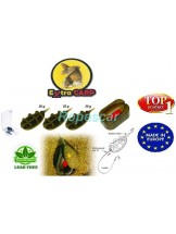 Set Method Feeder inline + Matrita : 3 + 1 - Extra Carp
