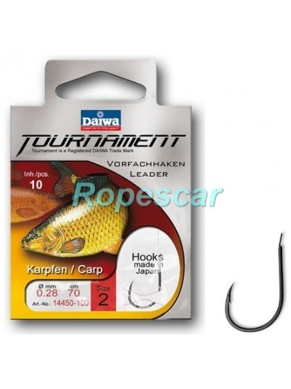 Carlige Tournament legate pt. crap - Daiwa
