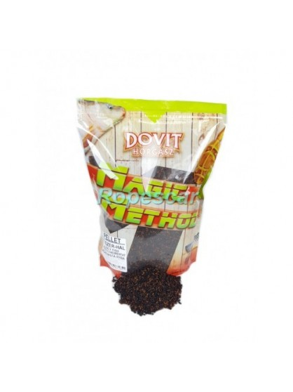 Pelete 2 mm. Magic Method Acid Butiric cu Peste 900 gr. - Dovit