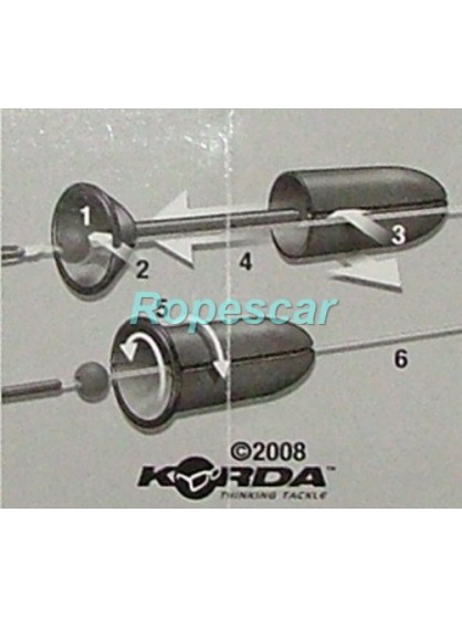 Flying Backleads (Plumb culisant) - Korda