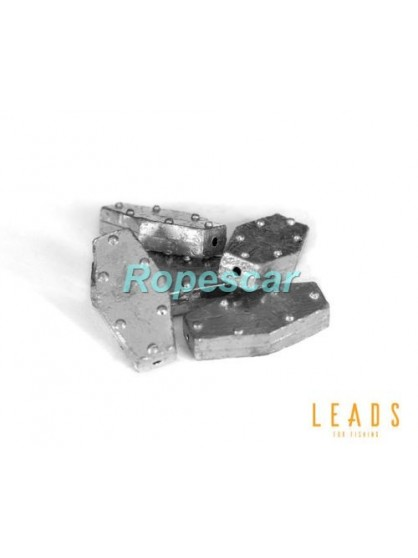 Leads - Plumb plat hexagonal set x 5 buc. - Delphin