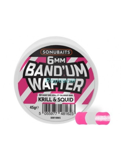 Krill and Squid Band'um Wafters 8mm.- Sonubaits