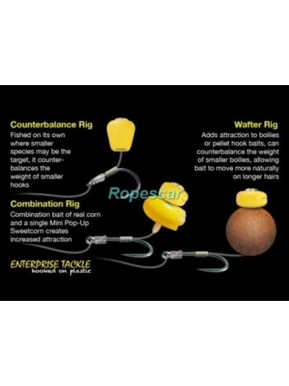 Porumb artificial Mini Pop-up Sweetcorn aroma Ananas - Enterprise Tackle