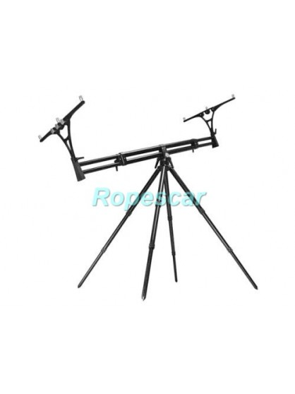 Rod Pod 4 posturi Nick 95 Black Tubes & Black Joints
