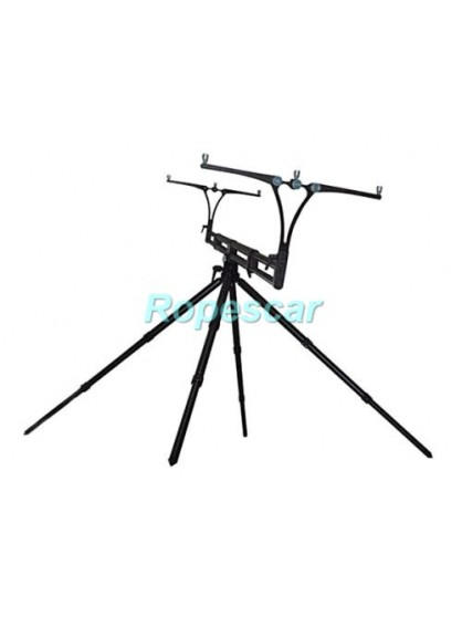 Rod Pod 4 posturi Nick 95 Evolution Black Tubes & Black Joints