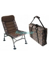 Set Scaun Quick Session Camo Chair 120 kg. + Husa  - Zfish