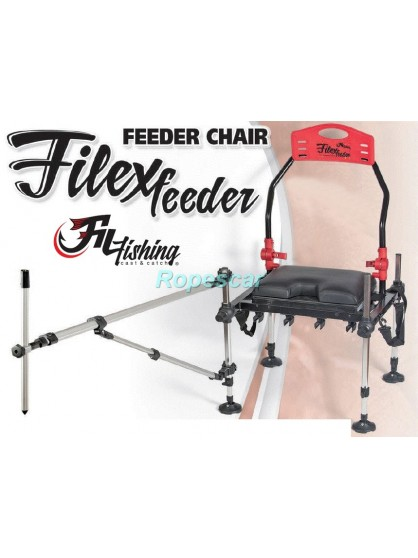 Scaun Filex Feeder cu suport telescopic si husa de transport - Filfishing