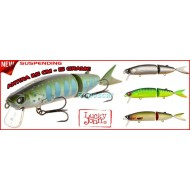 Vobler Swimbait Antira 115SP-101 / 11,5 cm,suspending - Lucky John