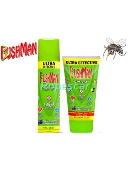 Gel anti-insecte Insect Repellent PLUS Dry Gel - Bushman